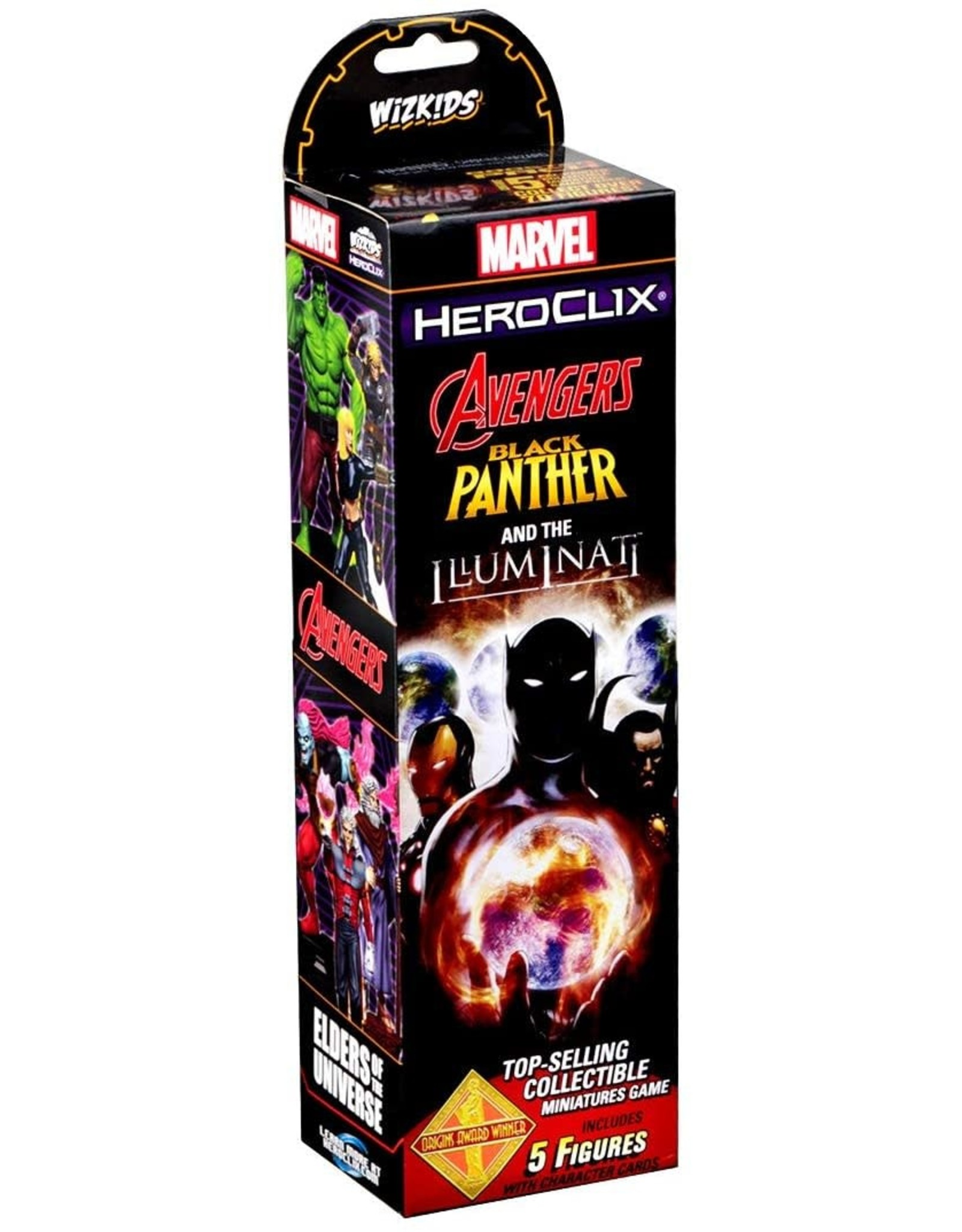 WizKids Marvel Heroclix: Black Panther and the Illuminati Booster Pack