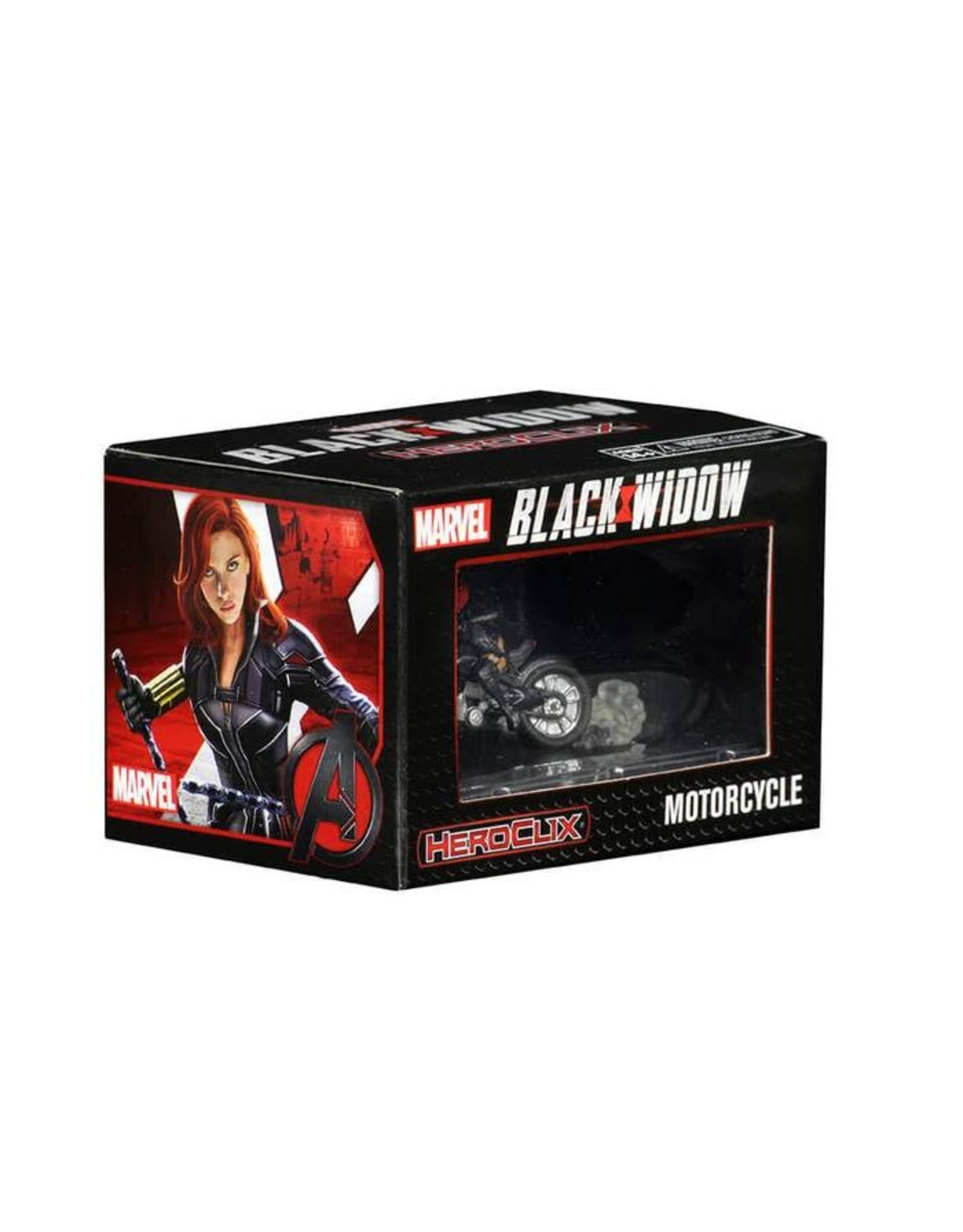 WizKids Marvel Heroclix: Black Widow Movie- Black Widow on Motorcycle