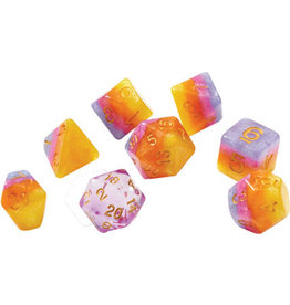 Sirius Dice RPG Dice Set (7): Tahitian Sunset