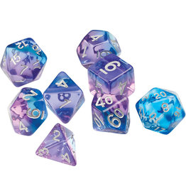 Sirius Dice RPG Dice Set (7): Violet Betta