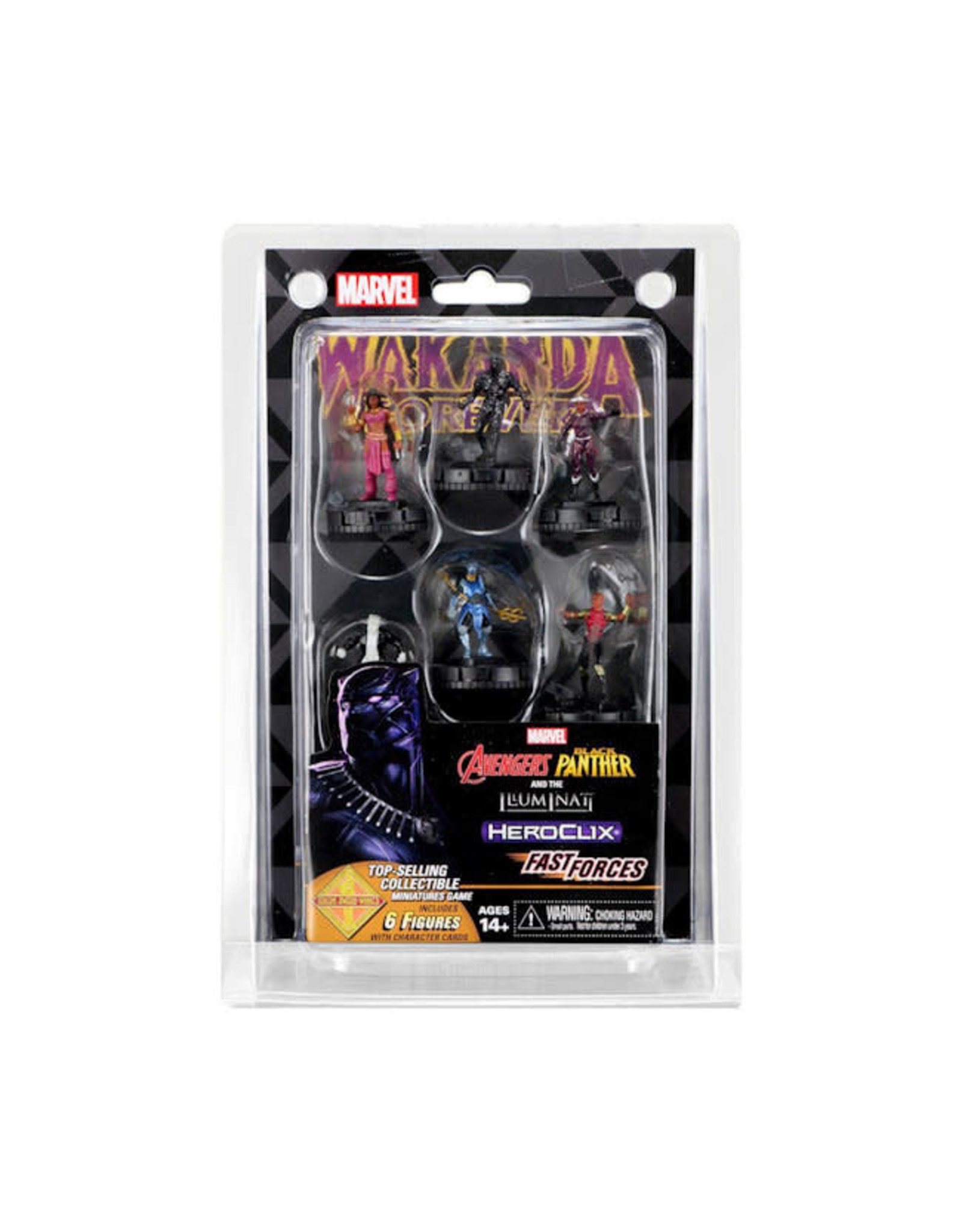 WizKids Marvel Heroclix: Black Panther and the Illuminati Fast Forces