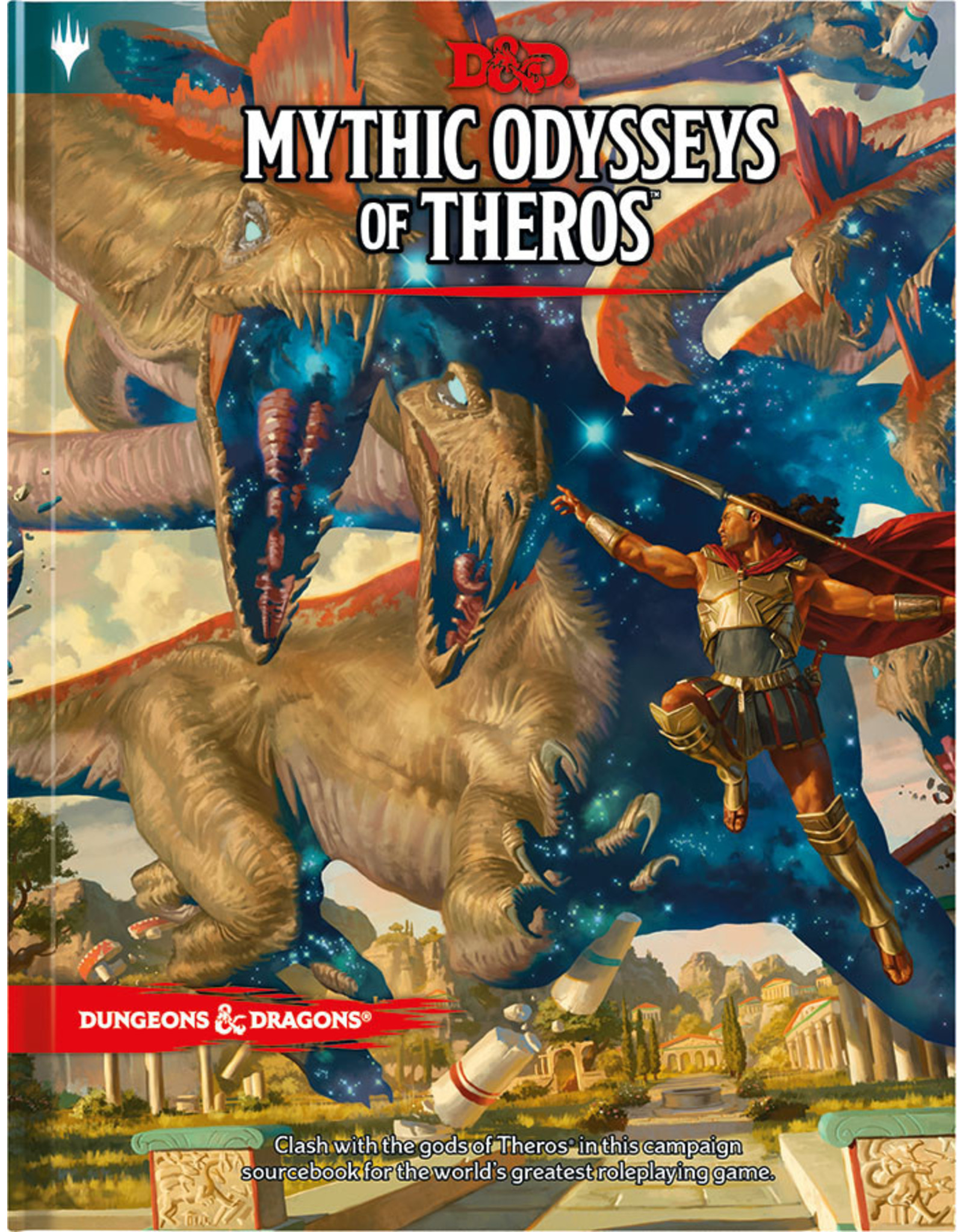 Wizards of the Coast Dungeons and Dragons RPG: Mythic Odysseys of Theros Hard Cover