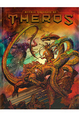 Wizards of the Coast Dungeons and Dragons RPG: Mythic Odysseys of Theros Hard Cover - Alternate Cover