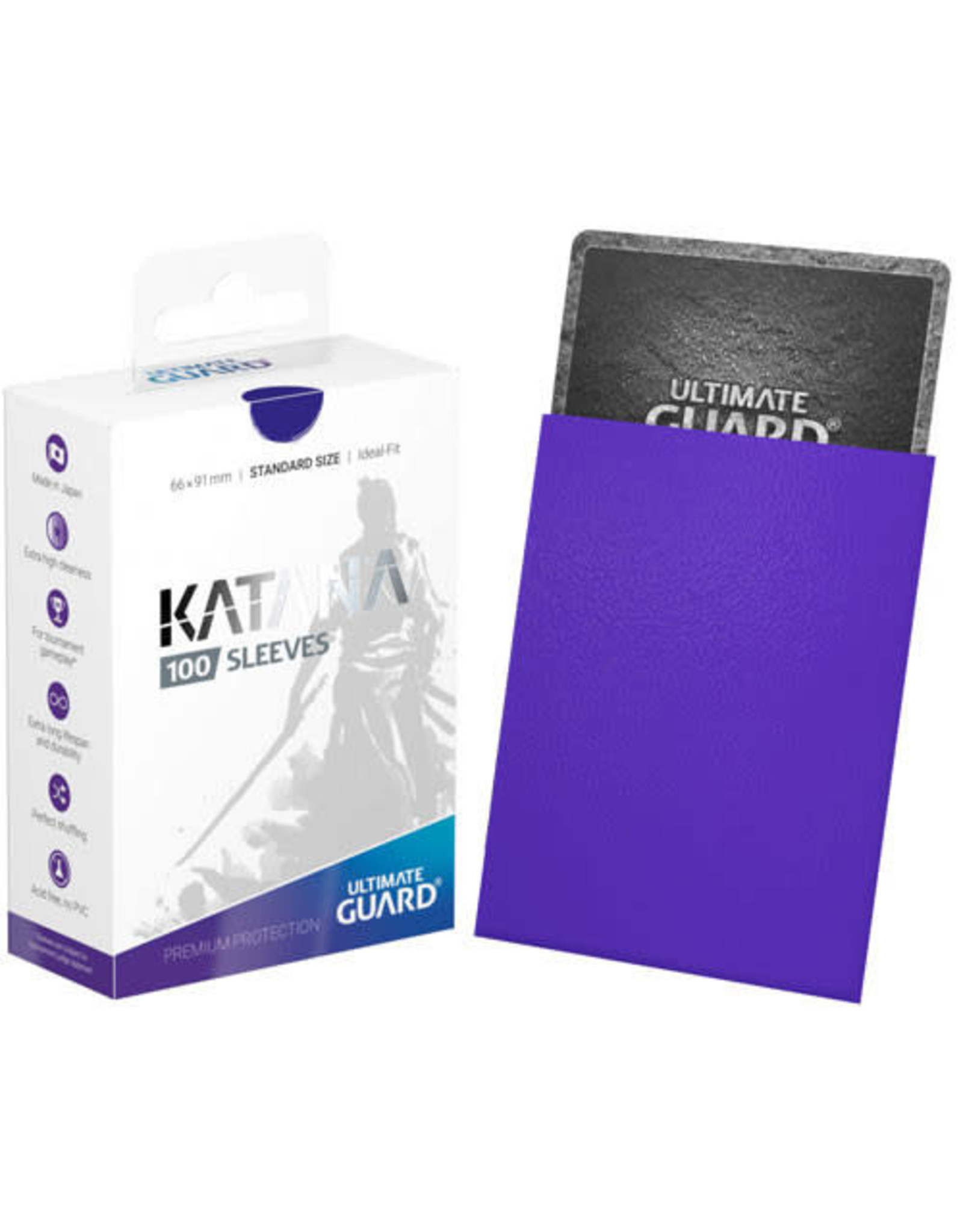 Ultimate Guard Ultimate Guard Katana Sleeves (100) Blue