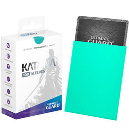 Ultimate Guard Ultimate Guard Katana Sleeves (100) Turquoise