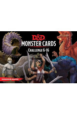 Wizards of the Coast Dungeons and Dragons RPG: Monster Cards - Challenge 6-16 Deck (125 cards)