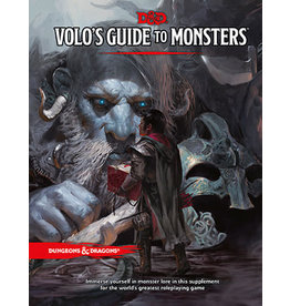 Wizards of the Coast Dungeons and Dragons RPG: Volo's Guide to Monsters 5th ed