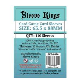 Sleeve Kings Sleeves: Card Game Card Sleeves 60 Microns 63.5x88mm (110)