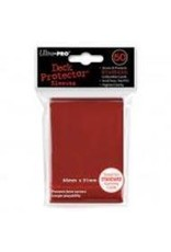 Ultra Pro Deck Protector Pack: Red Solid 50ct