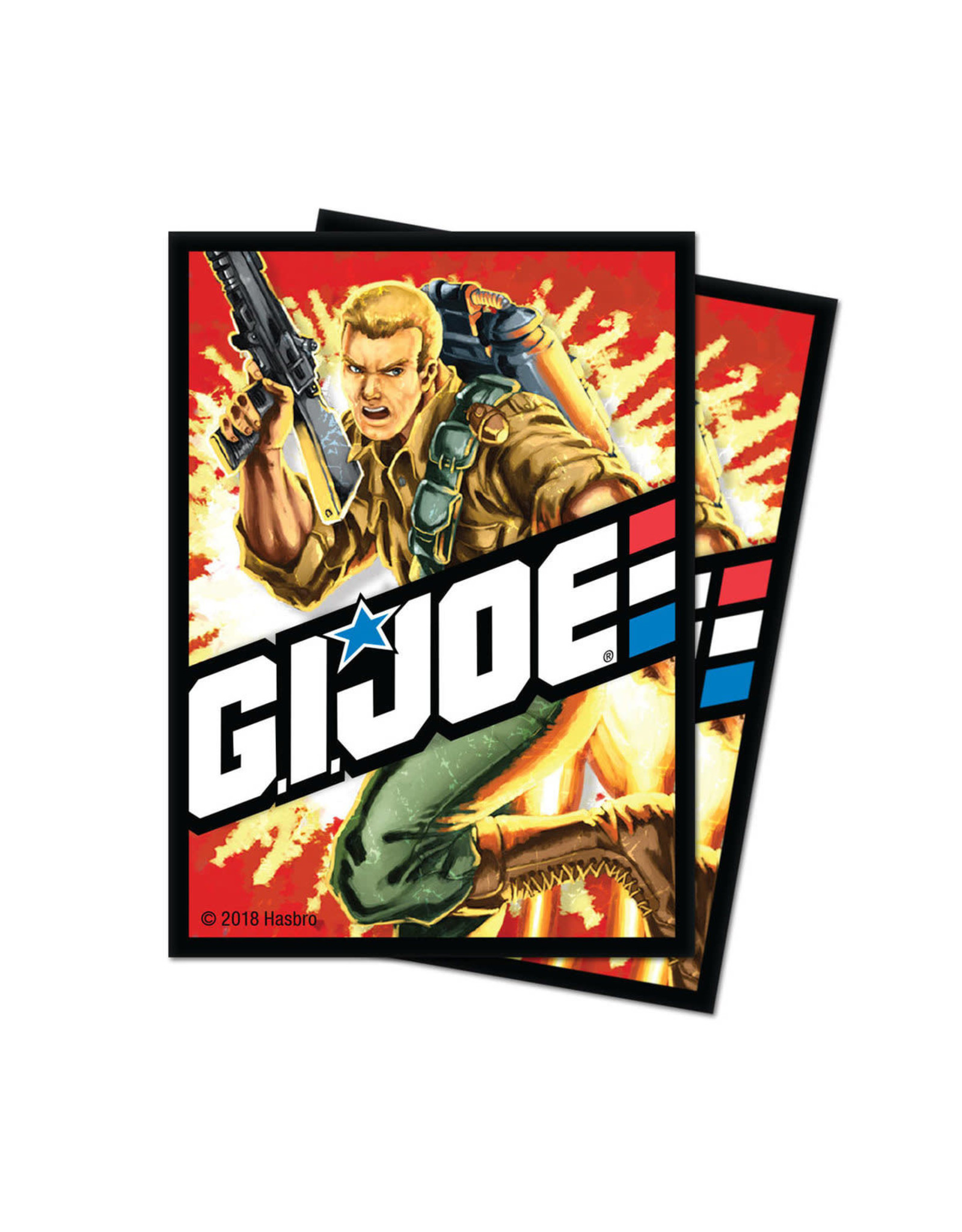 Ultra Pro G.I. JOE  Deck Protective Sleeves (100)