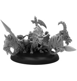 Privateer Press Riot Quest: The Four Horseymans Fighter (White Metal)