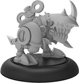 Privateer Press Riot Quest: Mekanoshredder Guard (White Metal)