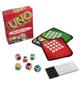 Mattel Games UNO: Roll &Write Dice Game