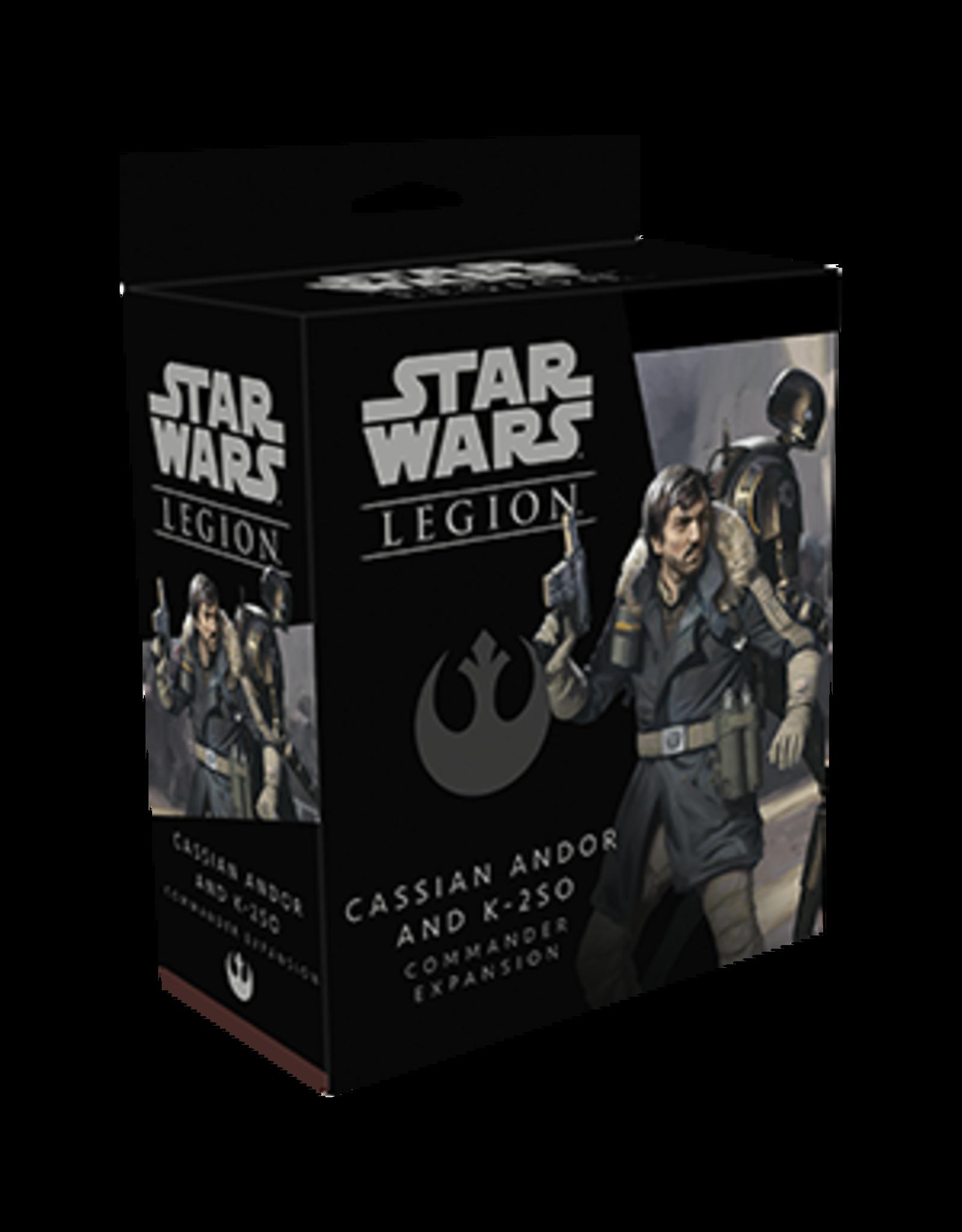 Star Wars: Legion - Cassian Andor and K-2SO Commander Expansion