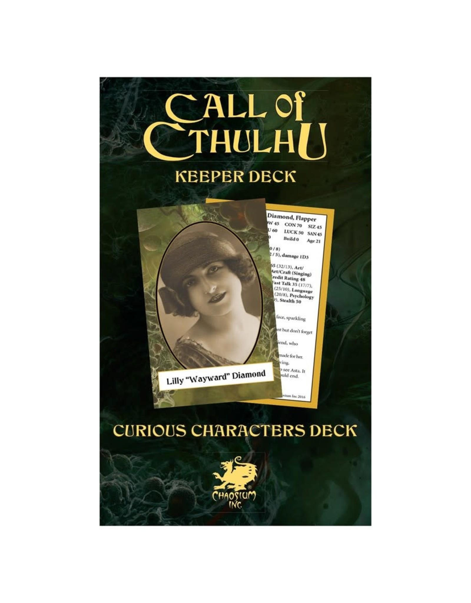 Chaosium  Inc. CoC 7th Ed. Keeper's Decks