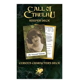 Chaosium  Inc. CoC 7th Ed. Keeper's Decks
