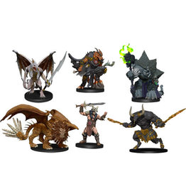WizKids Dungeons & Dragons Fantasy Miniatures: Icons of the Realms Figure Pack - Descent into Avernus - Arkhan the Cruel and the Dark Order