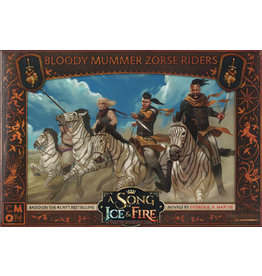 A Song of Ice & Fire Tabletop Miniatures Game: Bloody Mummer Zorse Riders Unit Box