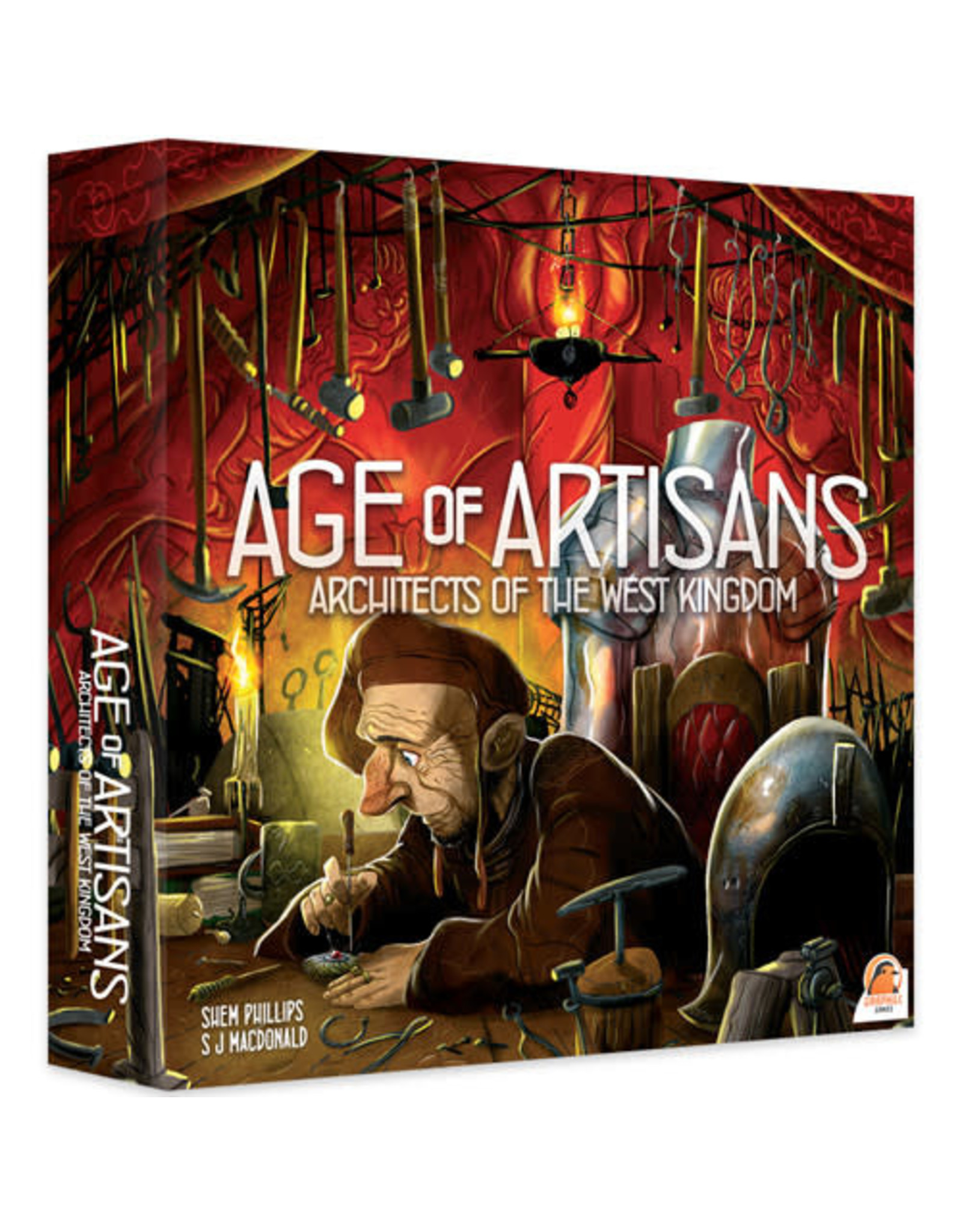 Renegade Game Studios Architects of the West Kingdom: Age of Artisans Expansion