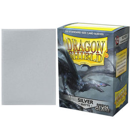 Dragon Shield Dragon Shields: (100) Non Glare Matte Silver
