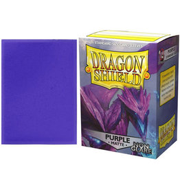 Dragon Shield Dragon Shields: (100) Non Glare Matte Purple
