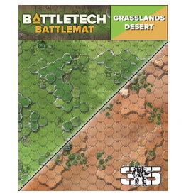 Catalyst Game Labs BattleTech: Battle Mat - Grasslands Desert