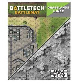 Catalyst Game Labs BattleTech: Battle Mat - Grasslands Lunar