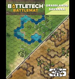 Catalyst Game Labs BattleTech: Battle Mat - Grasslands Savanna