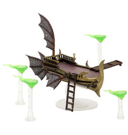 WizKids Dungeons & Dragons Fantasy Miniatures: Icons of the Realms: Eberron: Rising from the Last War Premium Set - Skycoach