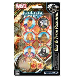 WizKids Marvel HeroClix: Fantastic Four Dice and Token Pack