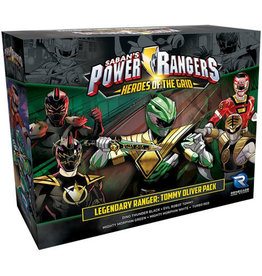 Renegade Game Studios Power Rangers - Heroes of the Grid: Legendary Ranger Tommy Oliver Pack