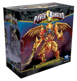 Renegade Game Studios Power Rangers - Heroes of the Grid: Mega Goldar Deluxe Figure