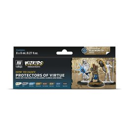 Vallejo Wizkids Vallejo Paint Set: Protectors of Virtue