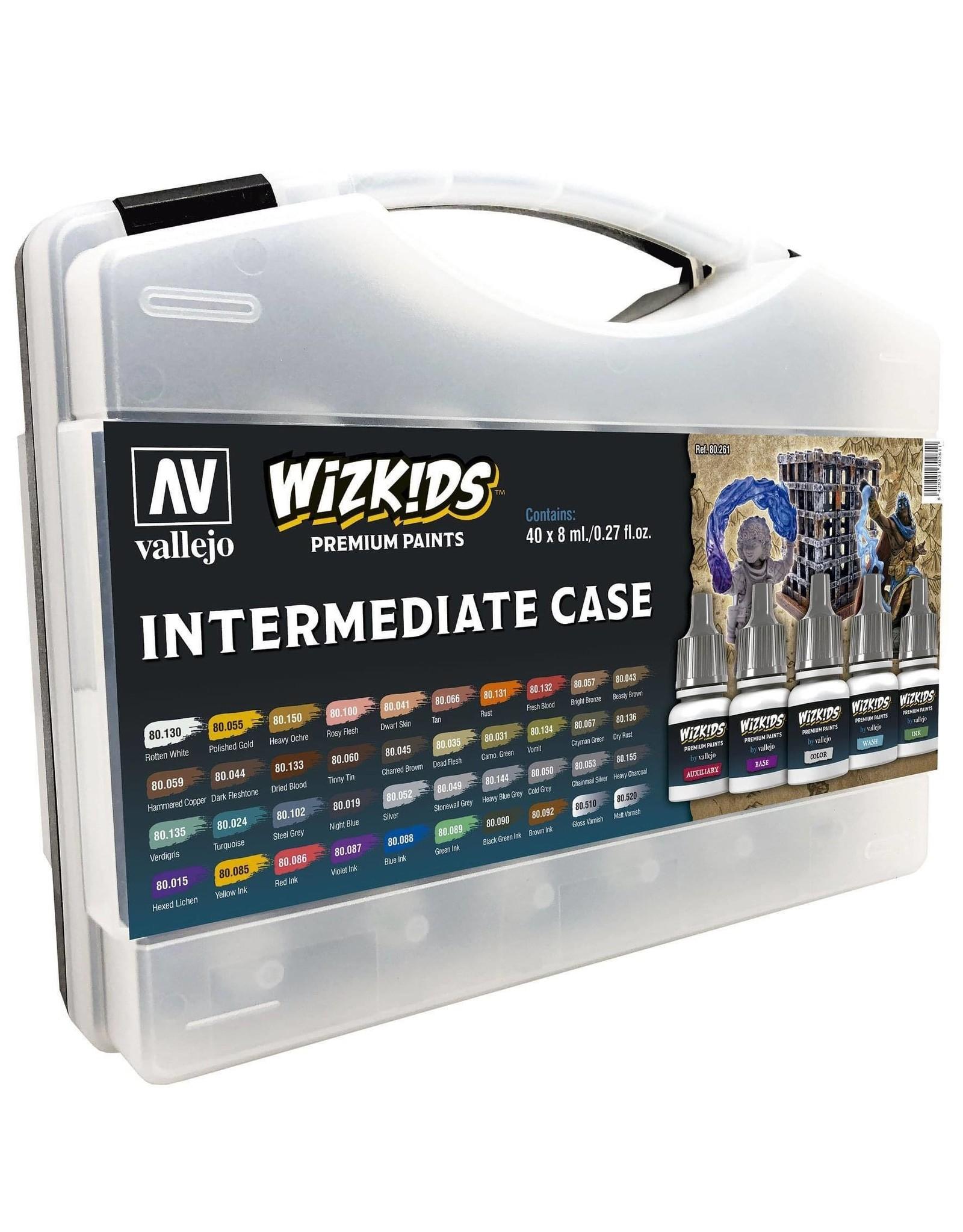 Vallejo Wizkids Vallejo Paint Set: Intermediate Case