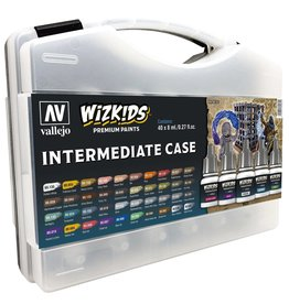 Vallejo Wizkids Vallejo Paint Set: Intermediate Case