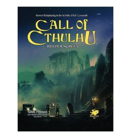 Chaosium  Inc. CoC 7E: Keeper Screen Pack