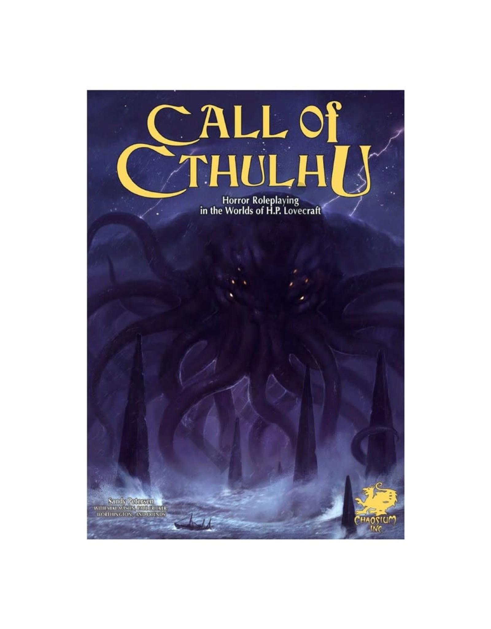 Chaosium  Inc. Call of Cthulhu 7th Ed. Keeper Rulebook