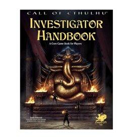 Chaosium  Inc. CoC: 7E: Investigator's Handbook