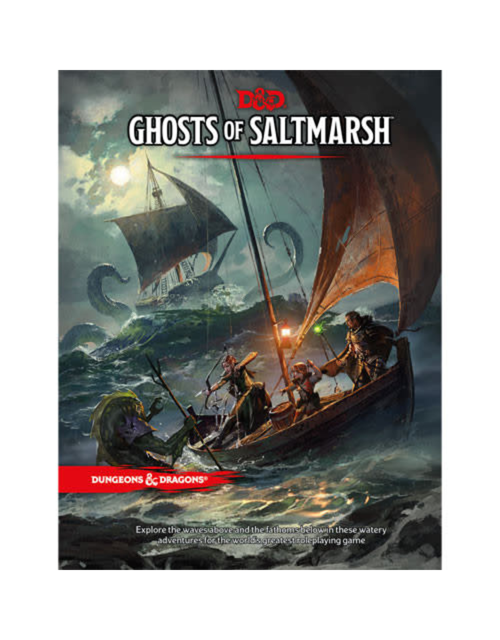 Wizards of the Coast Dungeons and Dragons RPG: Ghosts of Saltmarsh