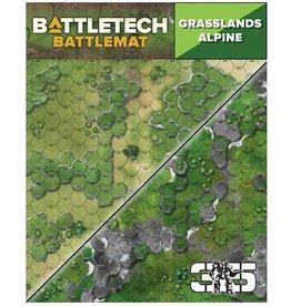 Catalyst Game Labs BattleTech: Battle Mat - Grasslands Alpine