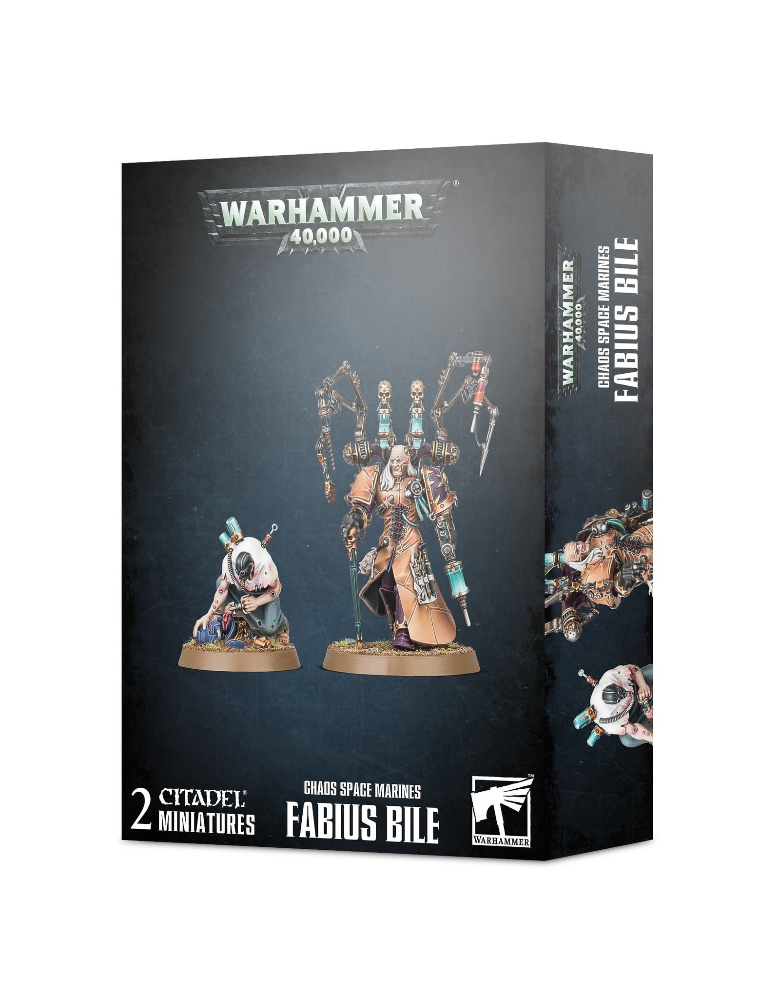 Games Workshop Chaos Space Marines Fabius Bile