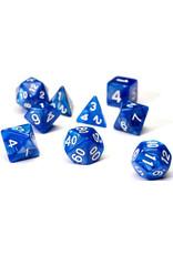 Sirius Dice RPG Dice Set (7): Pearl Blue Acrylic