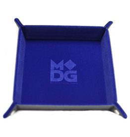 Metallic Dice Games Folding Dice Tray: Velvet 10x10 BU