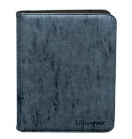 Ultra Pro Suede Collection Zippered 9-Pocket Premium PRO-Binder - Sapphire