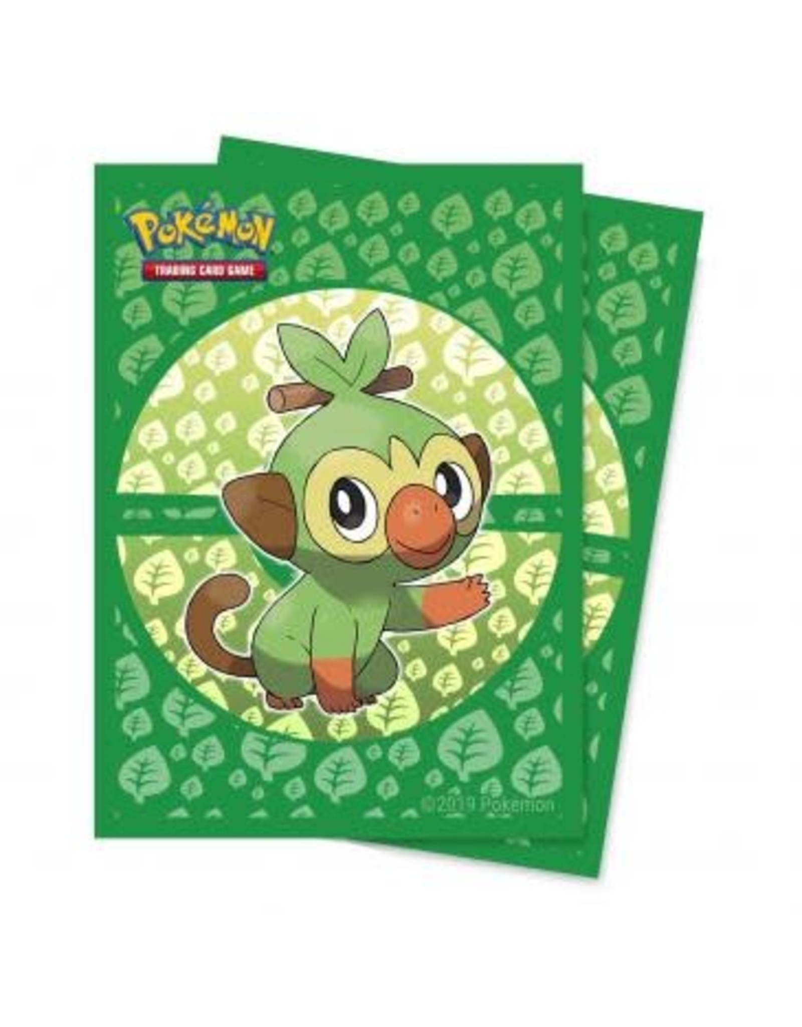 Ultra Pro Sword and Shield Galar Starters Grookey Deck Protector sleeve 65ct for Pokémon