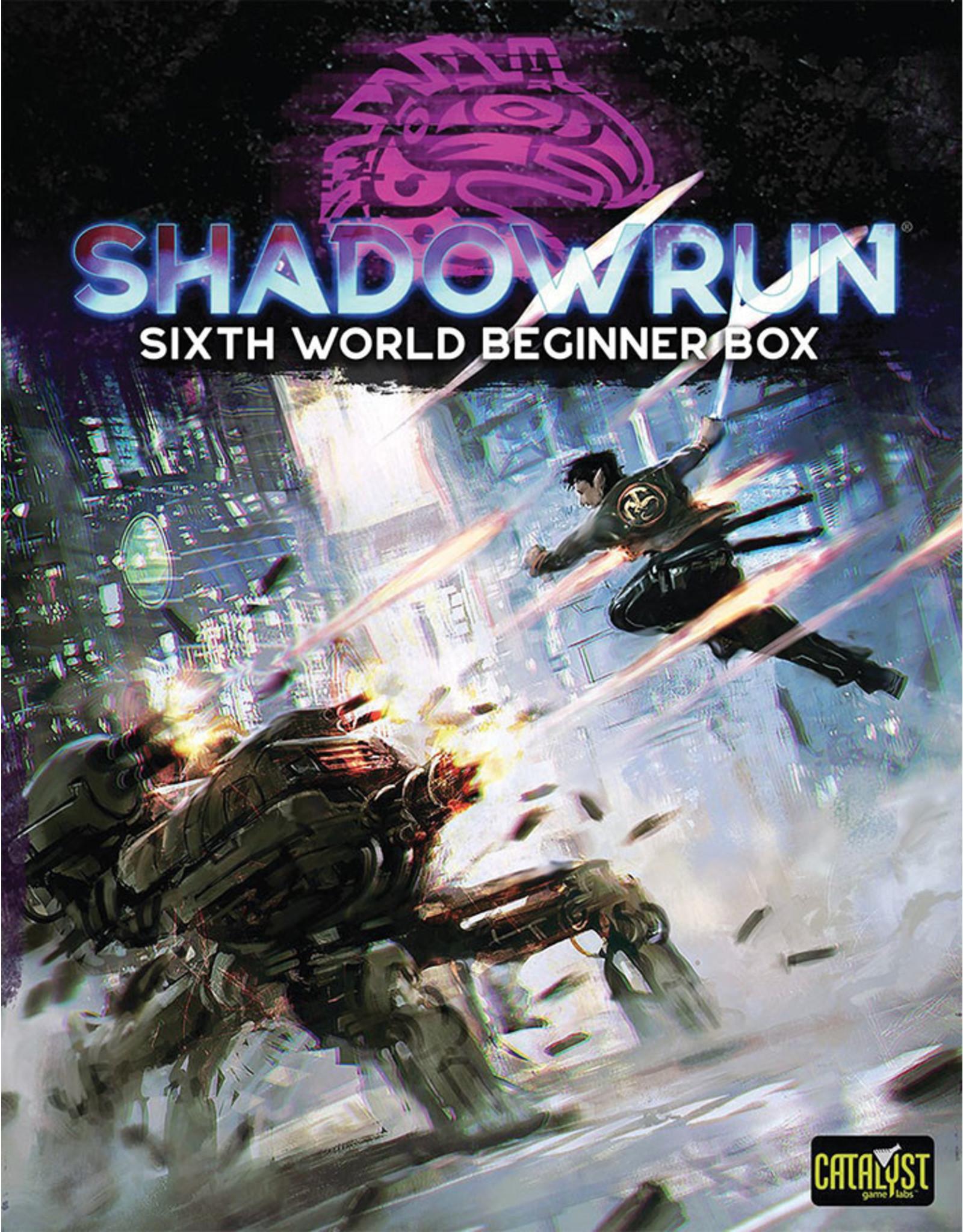 Catalyst Game Labs Shadowrun RPG: 6th Edition Beginner Box