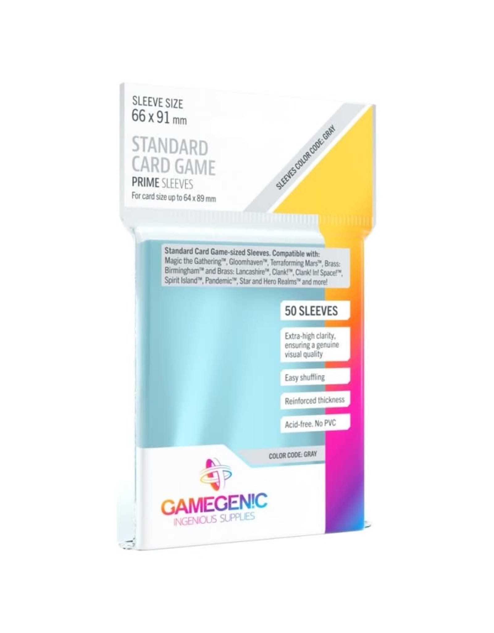 GameGenic DP: Prime: Standard Card Game Grey (50)