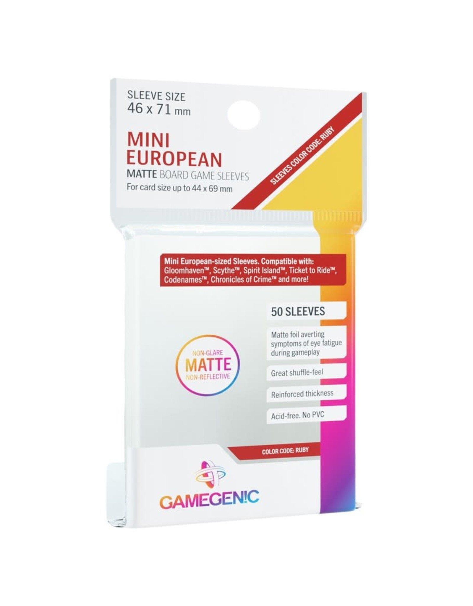 GameGenic DP: Matte: Mini European Ruby (50)