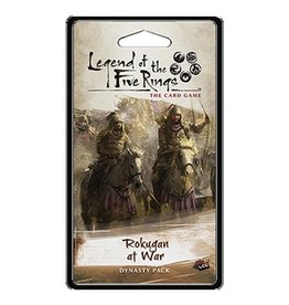 Fantasy Flight L5R LCG: Rokugan at War Dynasty Pack