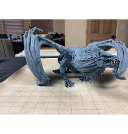 WizKids Nolzur's Marvelous Miniatures- Arveiaturace, The Gargantuan White Dragon